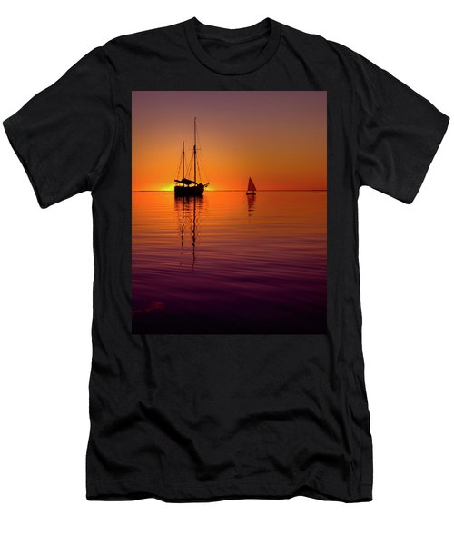 Tranquility Bay Men's T-Shirt (Athletic Fit)