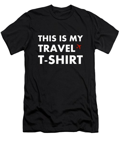 Travel Tee 3 Men's T-Shirt (Athletic Fit)