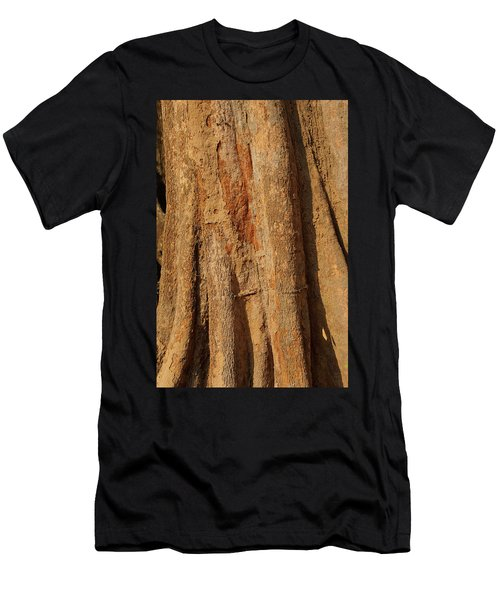 Tree Trunk And Bark Of Chambak Men's T-Shirt (Athletic Fit)