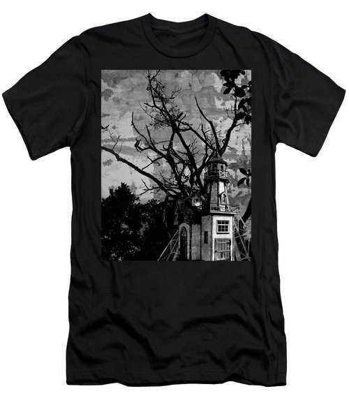 Treehouse I Men's T-Shirt (Athletic Fit)