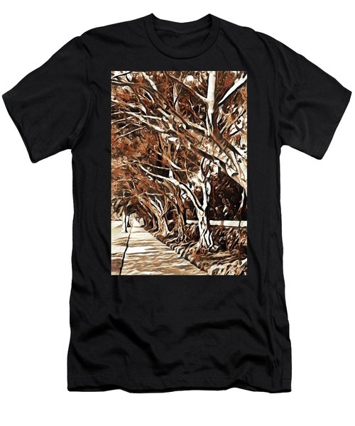 Treelined Men's T-Shirt (Athletic Fit)