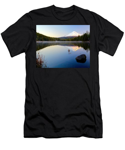 Trillium At Dawn Men's T-Shirt (Athletic Fit)