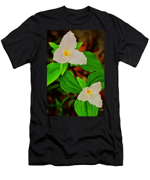 Trilliums Men's T-Shirt (Athletic Fit)