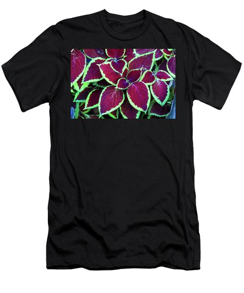 Tropical Leaves Men's T-Shirt (Athletic Fit)