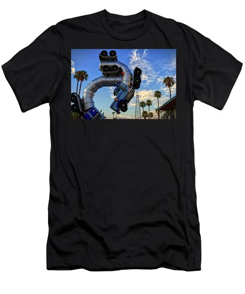 Men's T-Shirt (Athletic Fit) featuring the photograph Truckin' by Skip Hunt
