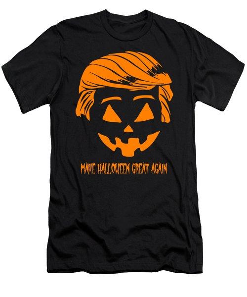 Trumpkin Make Halloween Great Again Men's T-Shirt (Athletic Fit)