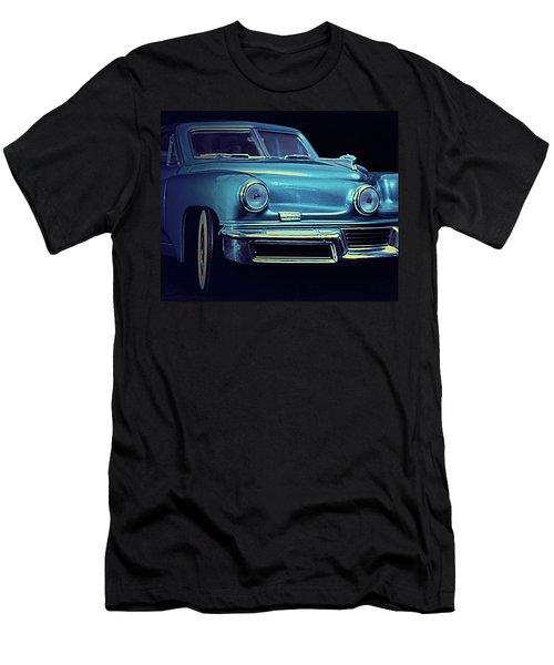 Tucker In Blue Men's T-Shirt (Athletic Fit)