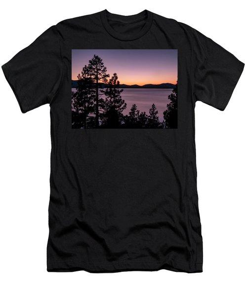 Twilight At Lake Tahoe Men's T-Shirt (Athletic Fit)