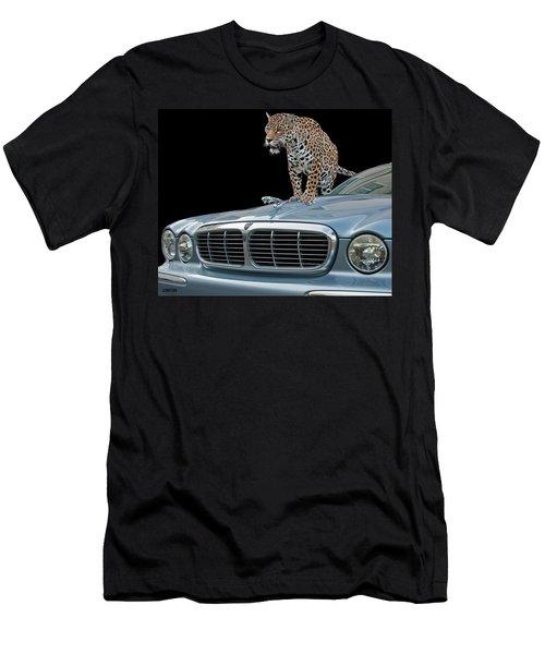 Two Jaguars 1 Men's T-Shirt (Athletic Fit)