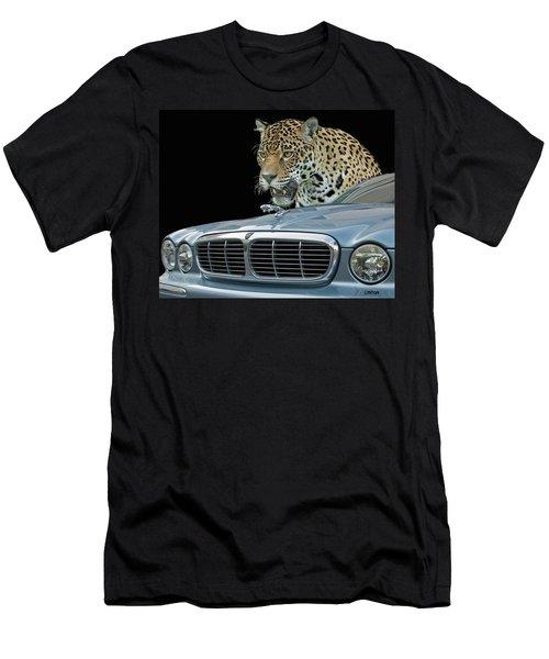 Two Jaguars 2 Men's T-Shirt (Athletic Fit)