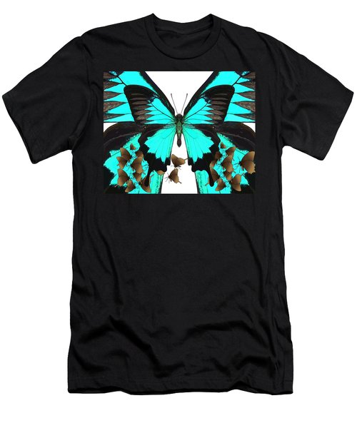 U Is For Ulysses Butterfly Men's T-Shirt (Athletic Fit)