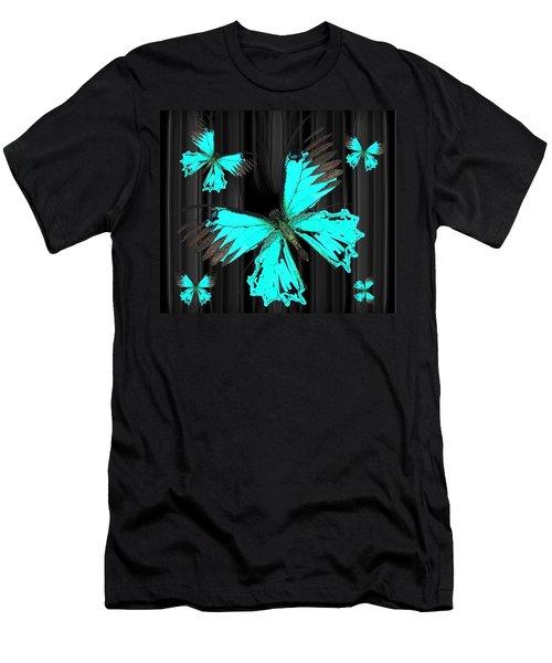 Ulysses Bkgd 3 Men's T-Shirt (Athletic Fit)