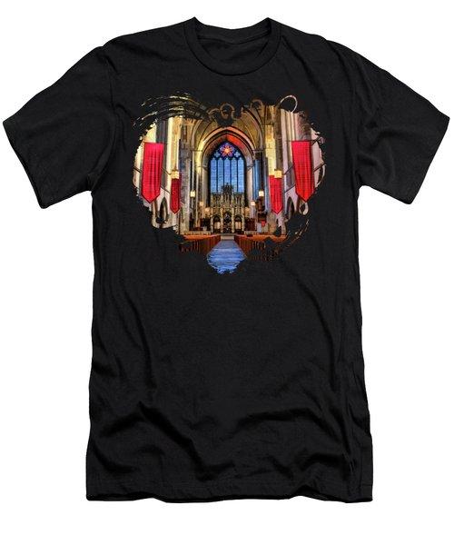 University Of Chicago Rockefeller Chapel Men's T-Shirt (Athletic Fit)