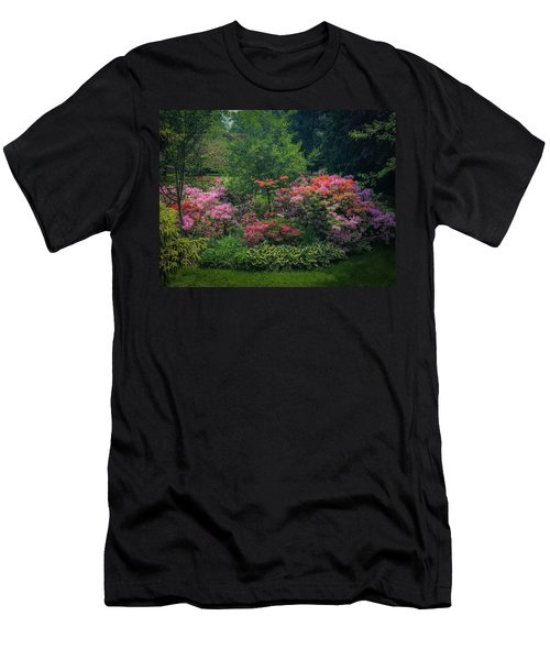 Urban Flower Garden Men's T-Shirt (Athletic Fit)
