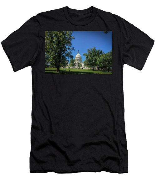 Us Capitol Men's T-Shirt (Athletic Fit)