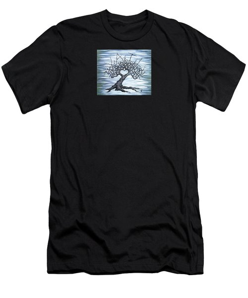 Vail Love Tree Men's T-Shirt (Athletic Fit)