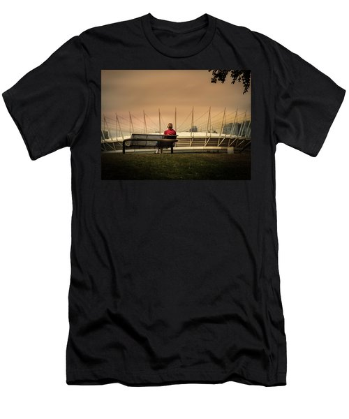 Vancouver Stadium In A Golden Hour Men's T-Shirt (Athletic Fit)