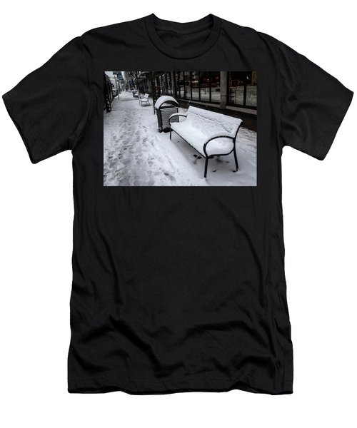 Men's T-Shirt (Athletic Fit) featuring the photograph Vancouver Winter by Juan Contreras