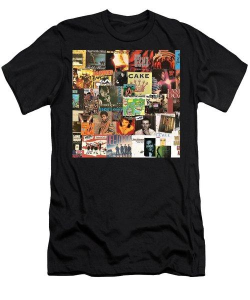 Various Artists Lp Collage 4 Men's T-Shirt (Athletic Fit)
