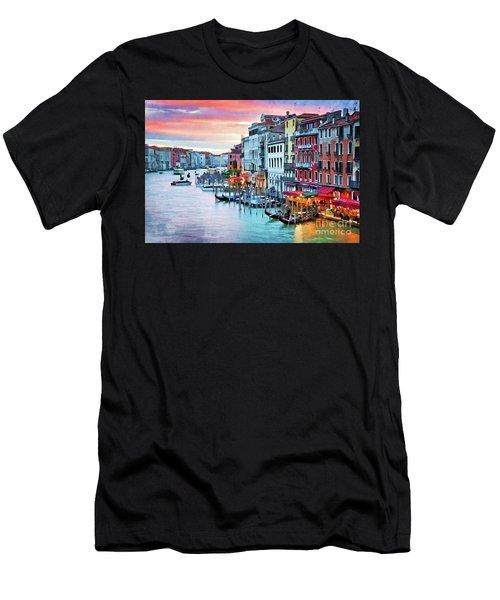 Venetian Sunset Men's T-Shirt (Athletic Fit)