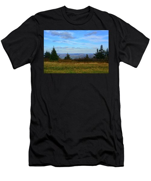 Men's T-Shirt (Athletic Fit) featuring the photograph Vermont From The Summit Of Mount Greylock by Raymond Salani III