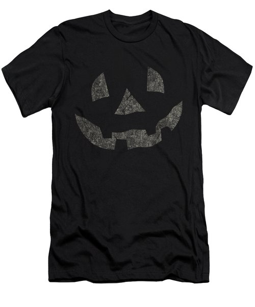 Vintage Pumpkin Face Men's T-Shirt (Athletic Fit)
