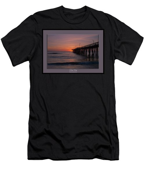 Virginia Beach Sunrise Men's T-Shirt (Athletic Fit)