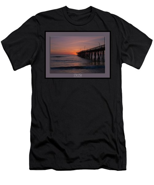 Men's T-Shirt (Athletic Fit) featuring the photograph Virginia Beach Sunrise by Pete Federico