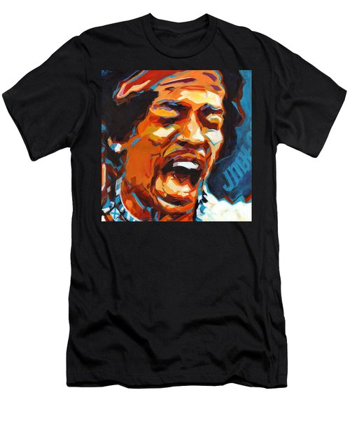 Voodoo Child - Jimi Hendrix In 1969 Men's T-Shirt (Athletic Fit)