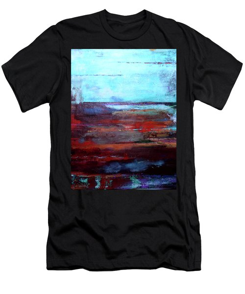 Men's T-Shirt (Athletic Fit) featuring the painting Water Magic  by Arttantra
