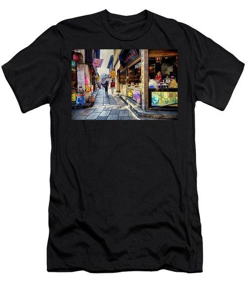 Water Village II Men's T-Shirt (Athletic Fit)