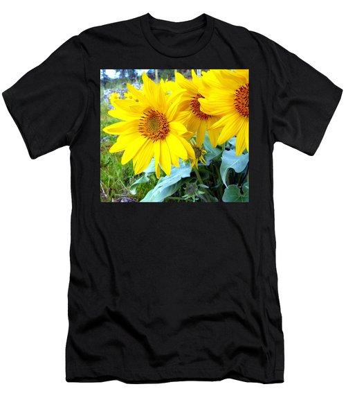 Wild Sunshine 1 Men's T-Shirt (Athletic Fit)
