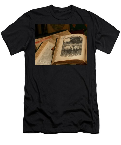 Men's T-Shirt (Athletic Fit) featuring the photograph Wild Wonders by Alison Frank