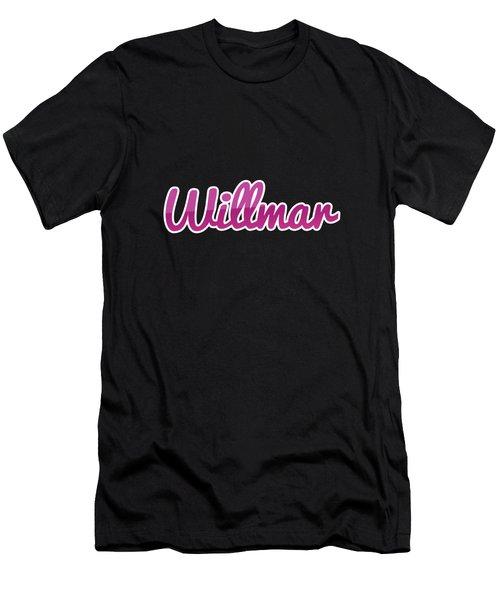 Willmar #willmar Men's T-Shirt (Athletic Fit)