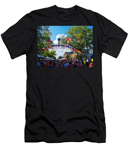 Willy St Fair - Madison - Wisconsin Men's T-Shirt (Athletic Fit)