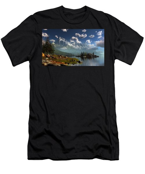 Window Through The Mist Men's T-Shirt (Athletic Fit)