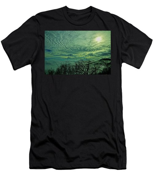Winter Clouds Men's T-Shirt (Athletic Fit)