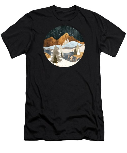 Winter Stars Men's T-Shirt (Athletic Fit)
