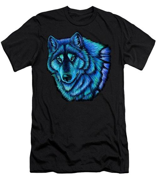 Wolf Aurora Men's T-Shirt (Athletic Fit)