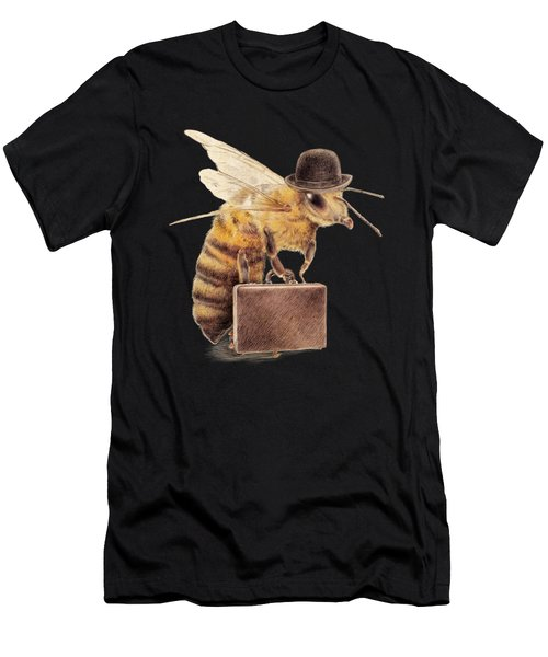 Worker Bee Men's T-Shirt (Athletic Fit)