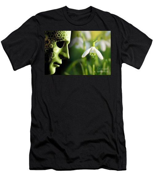 Working In Harmony Wth Nature Concept Men's T-Shirt (Athletic Fit)