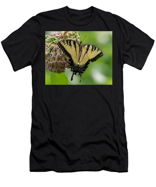 Yellow Swallowtail Butterfly Men's T-Shirt (Athletic Fit)