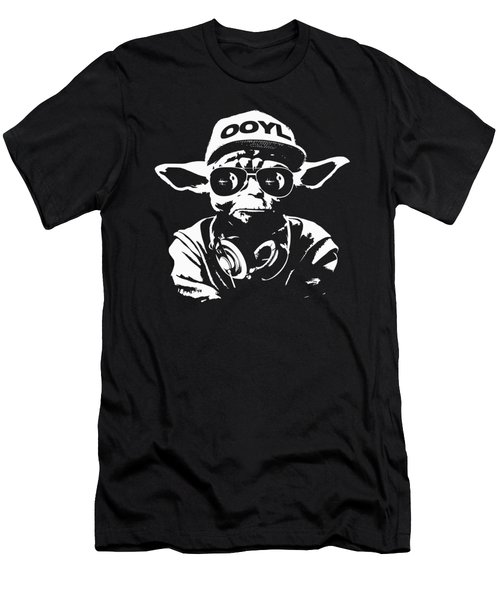 Yoda Parody - Only Once You Live Men's T-Shirt (Athletic Fit)