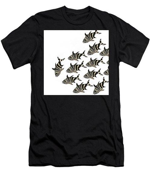 Zebra Fish 1 Of 4 Men's T-Shirt (Athletic Fit)