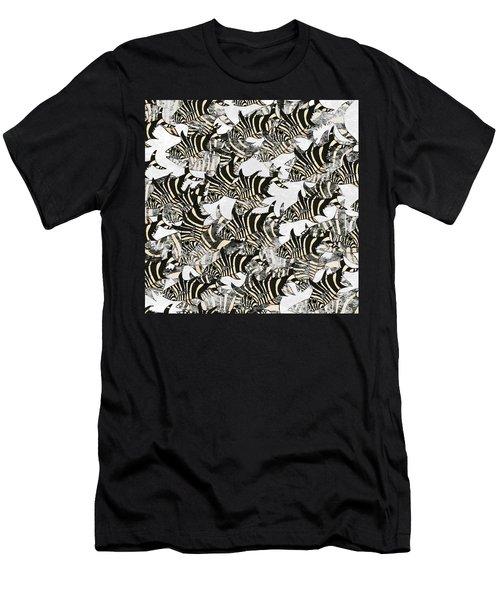 Zebra Fish 10 Men's T-Shirt (Athletic Fit)