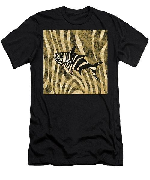 Zebra Fish 2 Men's T-Shirt (Athletic Fit)