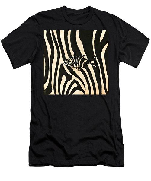 Zebra Fish 3 Men's T-Shirt (Athletic Fit)