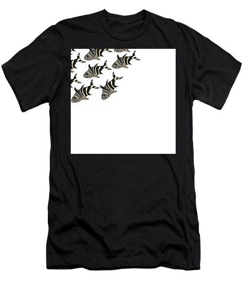 Zebra Fish 3 Of 4 Men's T-Shirt (Athletic Fit)