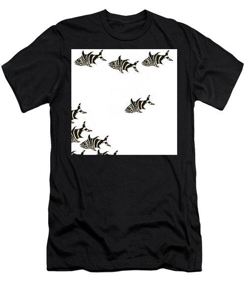 Zebra Fish 4 Of 4 Men's T-Shirt (Athletic Fit)