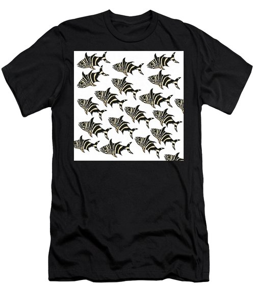 Zebra Fish 7 Men's T-Shirt (Athletic Fit)